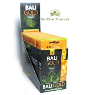 Bali Gold 20 Count Kratom Capsules